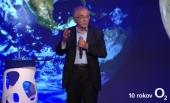 Exriaditeľ vývojárskeho centra NASA Charles Elachi prišiel na pozvanie O2 do Bratislavy