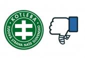 Ľudia na Facebooku nahlasujú stránky Kotlebovcov, padla nielen tá hlavná