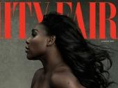Serena Williams pózovala takmer nahá s tehotenským bruškom pre Vanity Fair