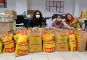 BILLA spolu so svojimi dodávateľmi venovala seniorom potravinové balíčky