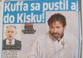 Hovorca Andreja Kisku: Penta prechádza cez Plusku na praktiky konšpiračných webov