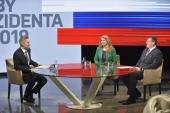Prvá televízna debata Čapútovej a Šefčoviča