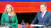 Šefčovič sa už v prvej televíznej debate vymedzil voči Čaputovej (VIDEO)